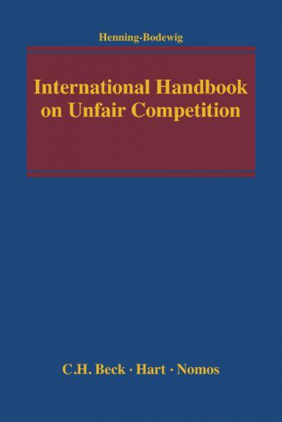 International Handbook on Unfair Competition