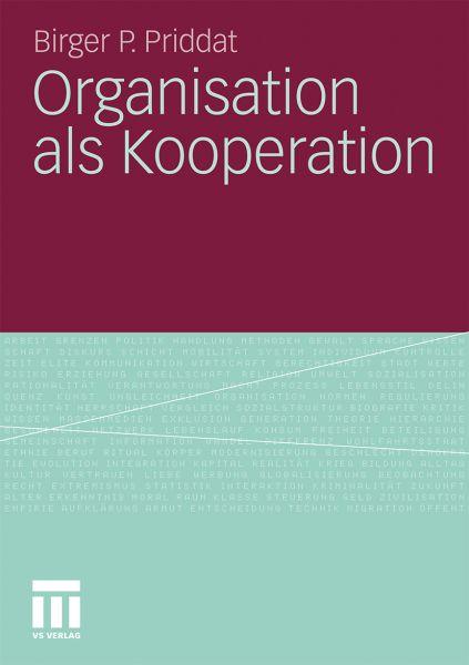 Organisation als Kooperation