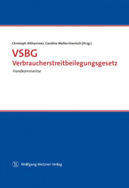 VSBG Verbraucherstreitbeilegungsgesetz
