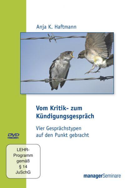 DVD - Vom Kritik- zum Kündigungsgespräch