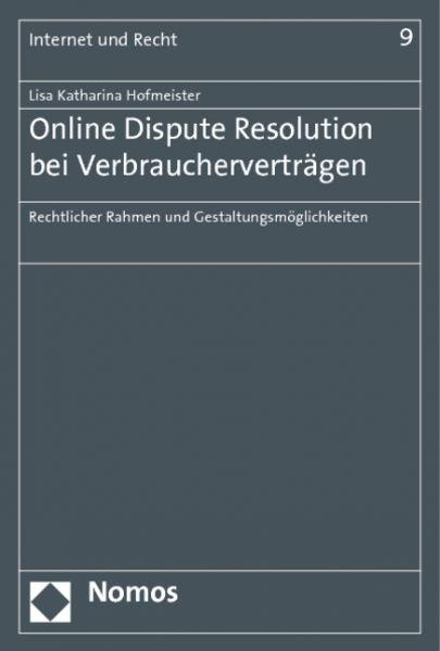 Online Dispute Resolution bei Verbraucherverträgen