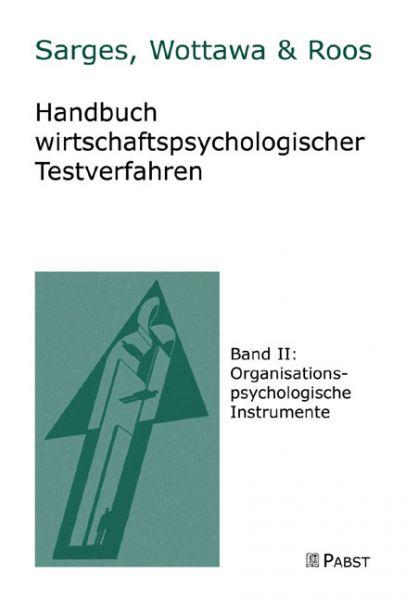 Handbuch wirtschaftlicher Testverfahren