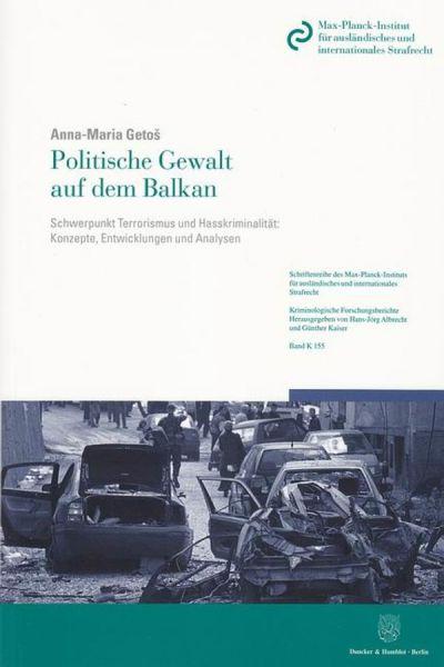 Politische Gewalt auf dem Balkan.