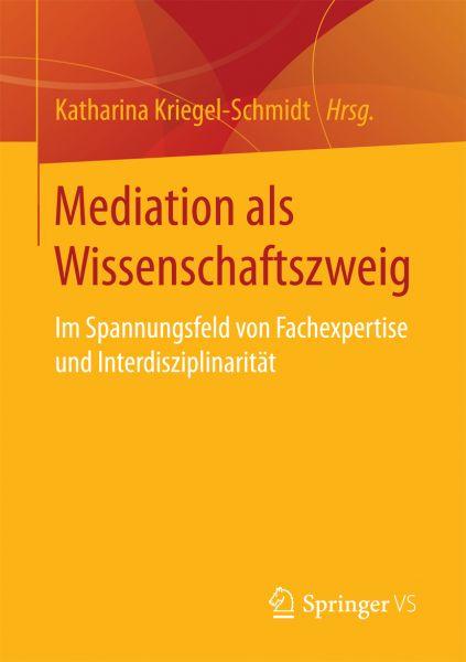 Mediation als Wissenschaftszweig