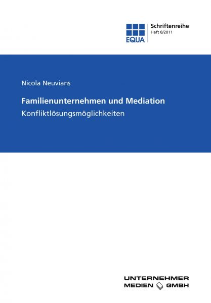 Familienunternehmen und Mediation
